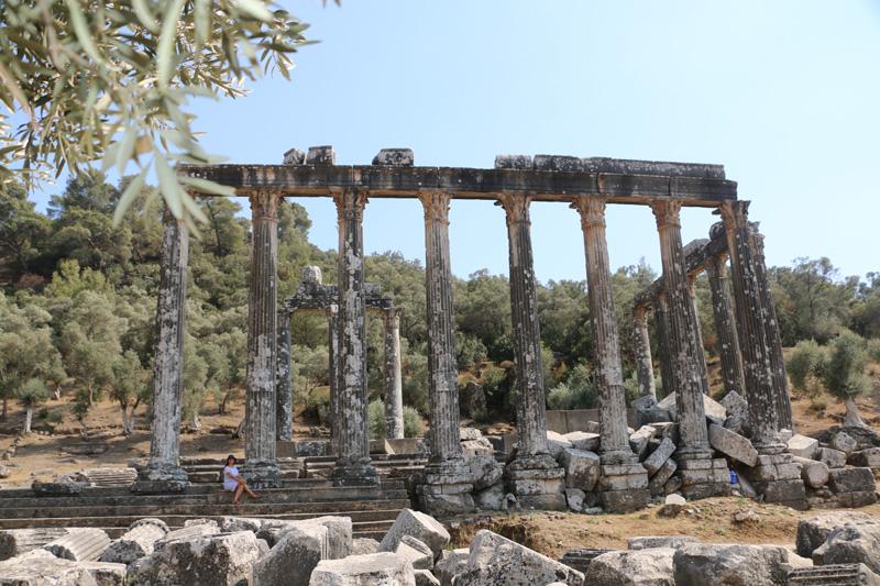 Yol Üstündeki Yüce Tanrıça: Euromos